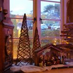 Festive decorations & yes that is a Driftwood Christmas Tree!