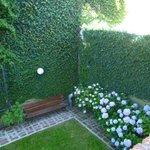 Área interna (Pequeno Jardim) ao ar livre