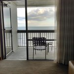 Oceanfront Room - View from Inside Room