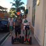 On the segway!