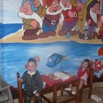 Childrens eating area