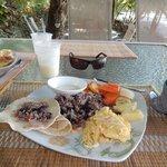 Breakfast- Costa Rican style