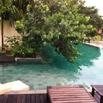 la piscine à débordements