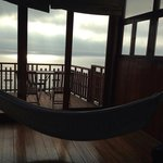 in suite hammock and balcony
