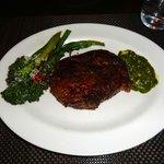 Ribeye w/Broccoli and Spinach