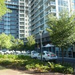 Nice to be beside a park in the city of Adelaide with Crowne Plaza
