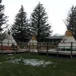 Hot springs Teepee Pots