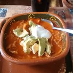 Sopa de Tortilla is highly recommended