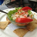 Try the ceviche - it is to die for!!!