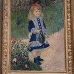 """""""Girl with a Watering Can"""" by Renoir"""