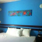 sleeping area of room 405
