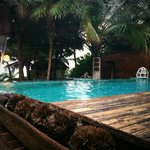 Pool near restaurant, looking towards beach.