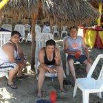 muy limpia la playa y excelentes instalaciones
