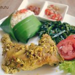 Ayam Betutu ( and many indonesian foods )