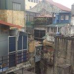 View of Hanoi's old quarter