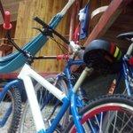 Front porch/bikes/hammock