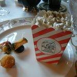 Popcorn with truffles plus a bonus