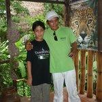 Con mi amigo JUAN CARLOS (gran guía)