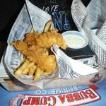 Platillo niños (Fish & Chips)