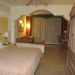 Our room - a beachfront junior suite