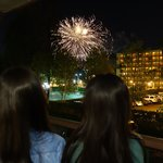 Disney Fireworks right at our room balcony