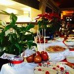 Great Christmas buffet