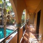 """Quad Pool View Room - Balcony"