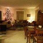 Livingroom with cookies