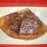Crêpe bretonne beurre sucre chantilly