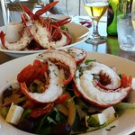 Marron Salad