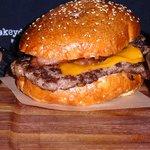 Cheese burger. Ultra-fresh bun. Amazing meat.