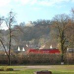 Ansicht des Hotels aus der Stadt Bad Kösen