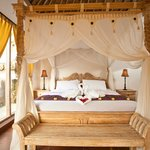 Room with Balinese style
