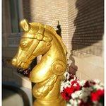 Horse Detail Mark Hopkins Intercontinental San Francisco by Jeremiah Christopher