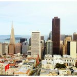 View from our suite, Mark Hopkins Intercontinental San Francisco by Jeremiah Christopher