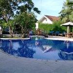 nice swimming pool area