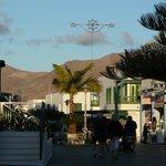 In Playa Blancas Fußgängerzone
