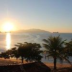Vue de Gipoïa au lever du soleil. 7h