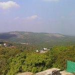 View from Hotel Garden