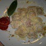 Ravioli al grano saraceno con bitto e bresaola