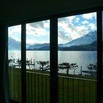 Zimmerfensterfront