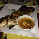 grilled snow fish