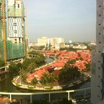 Daytime view from 9th floor