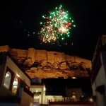 New Year's Fireworks from Mehrangarh Fort