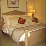Кровать в нашем номера
