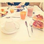 Breakfast : )