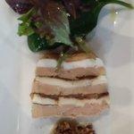 terrine foie gras et chèvre