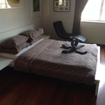 Chambre propre et spacieuse