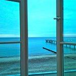 Wunderschöne Aussicht direkt auf die See