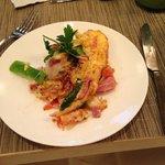 Botched omelette job